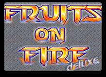 Автомат Fruits On Fire играть онлайн