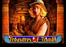 Вулкан игровой автомат Treasures Of Tombs