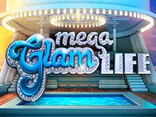 Мега-Гламурная Жизнь на экране игрового автомата казино Вулкан